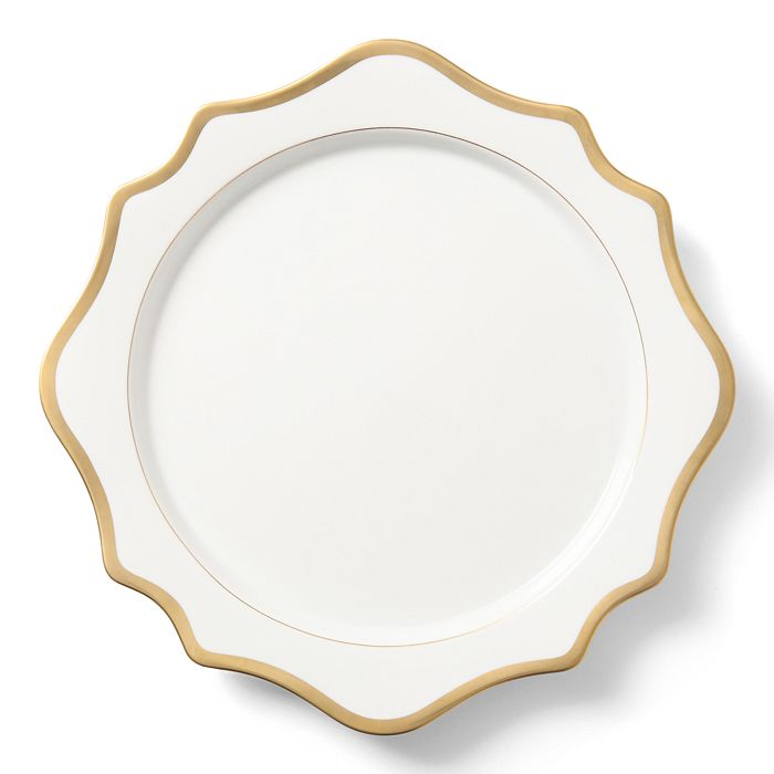 Anna Weatherley - Simply Anna Antique White with Gold Charger