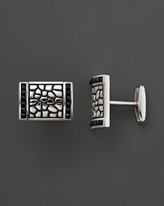 J. Goodman Sterling Silver Black Spinel Cufflinks - Bloomingdale's_0
