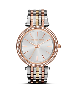 michael kors female michael kors darci glitz watch 39mm