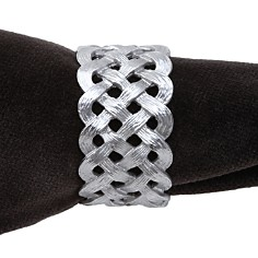L'Objet Napkin Jewels, Matte Braid - Bloomingdale's_0