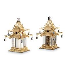 L'Objet Spice Jewels Pagoda Salt & Pepper Shakers - Bloomingdale's_0