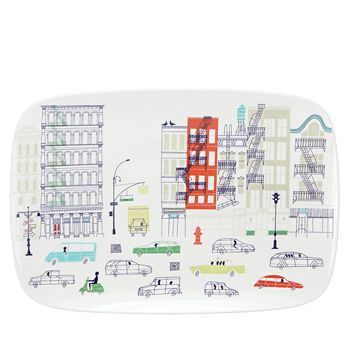 kate spade new york - Hopscotch Drive About Town Oblong Platter