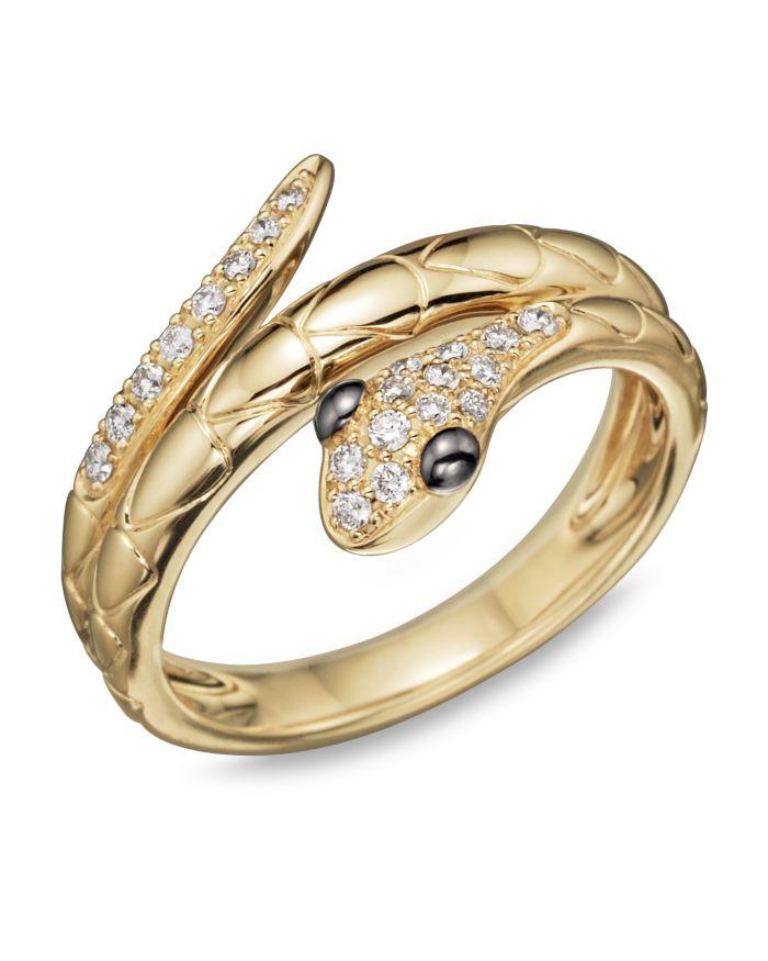 Bloomingdale's Diamond Snake Ring in 14K Yellow Gold, .15 ct. t.w.  | Bloomingdale's