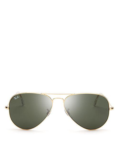 Ray-Ban - Unisex Classic Aviator Sunglasses, 62mm