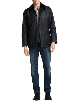 Ashby Tailored Waxed Cotton Jacket