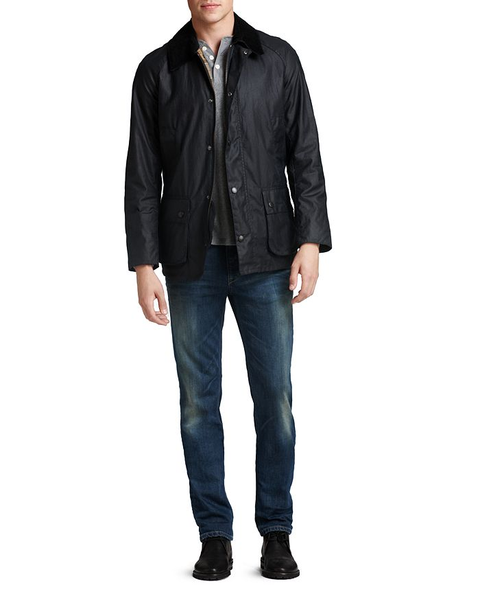 c5f2f95f94f Barbour - Ashby Tailored Waxed Cotton Jacket