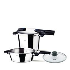 Fissler Vitaquick Quattro Set 6.3-Quart Pressure Cooker & 2.6-Quart Pressure Skillet - Bloomingdale's Registry_0