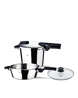 Fissler - Fissler Vitaquick 6.3-Quart Pressure Cooker & 2.6-Quart Pressure Skillet