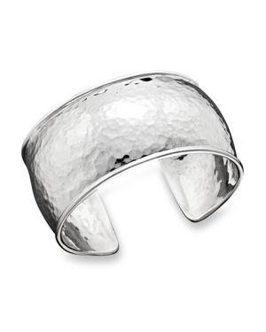Ippolita Sterling Silver Hammered Flat Cuff