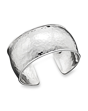 Ippolita Sterling Silver Hammered Flat Cuff-Jewelry & Accessories