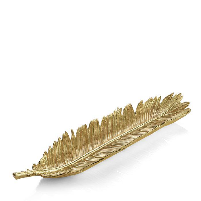 Michael Aram - Sago Palm Gold Bread Plate