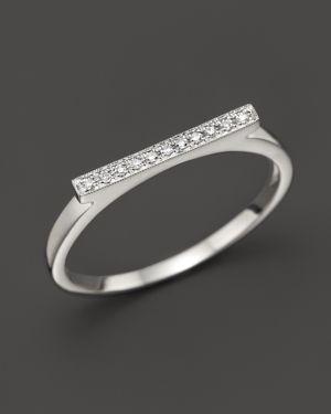 Dana Rebecca Designs Diamond Sylvie Rose Ring in 14K White Gold