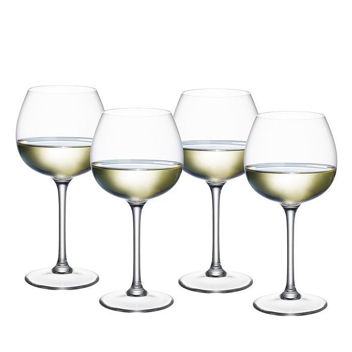 Villeroy & Boch - Purismo White Wine Soft & Round Glass, Set of 4
