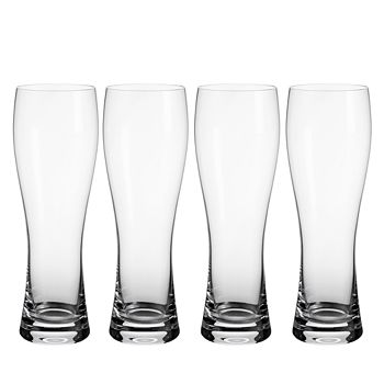 Villeroy & Boch - Purismo Pilsner Glass, Set of 4