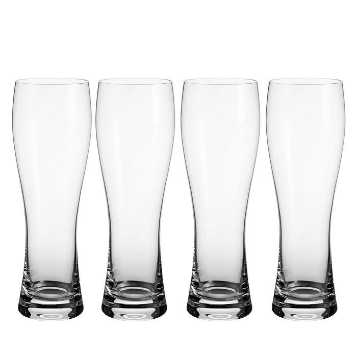 Villeroy & Boch - Purismo Pilsner Glass, Set of 4