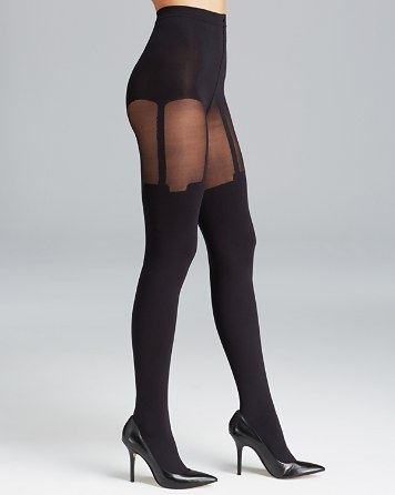 $Pretty Polly House of Holland Super Suspender Tights - Bloomingdale's