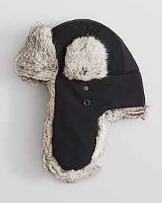 The Men's Store at Bloomingdale's - Ultratech Fur-Lined Bomber Hat - 100% Exclusive