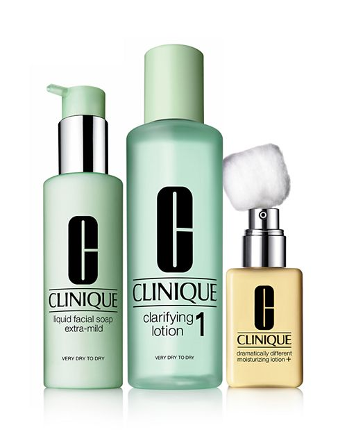 Clinique - 3-Step Skin Care System, Skin Type 1 Very Dry to Dry