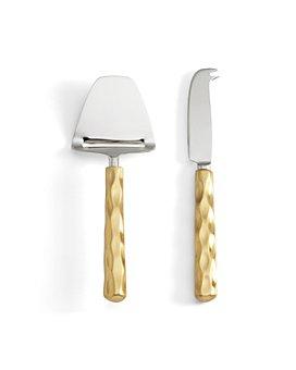 Michael Wainwright - Michael Wainwright Truro Gold Cheese Shaver & Knife Set