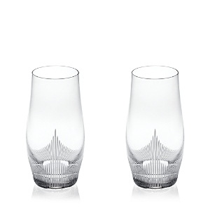 Lalique 100 Points Highball Glass, Set of 2