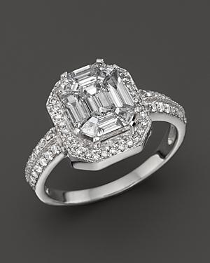 Certified Fancy Cut Diamond Ring, 1.30 ct. t.w. - 100% Exclusive