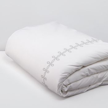Matouk - Gordian Knot Percale Duvet, Full/Queen