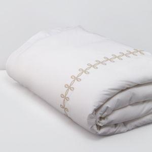 Matouk Gordian Knot Percale Duvet Cover, King