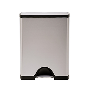 simplehuman 50-Liter Rectangular Step Garbage Can