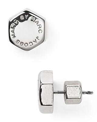 Marc By Jacobs Bolt Stud Earrings Bloomingdale S