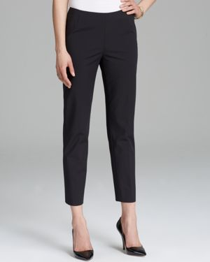 Lafayette 148 New York Bleecker Cropped Skinny Pants