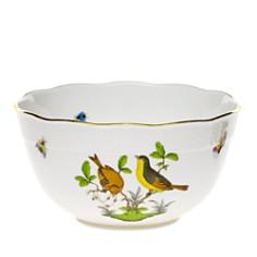 Herend - Rothschild Bird Multi-Color Round Bowl