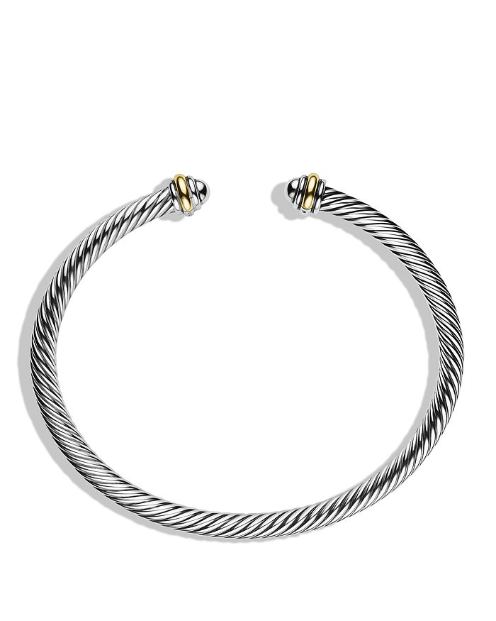 David Yurman - Cable Classic Bracelet with Gemstones or Sterling Silver