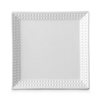 "L'Objet - Perlee White 8"" Square Tray"