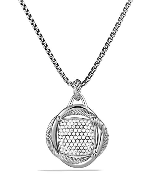 David Yurman - Infinity Large Pendant with Diamonds