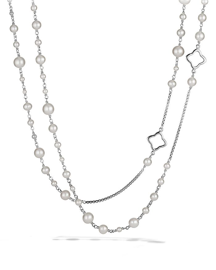 David Yurman - Bijoux Chain Necklace with Pearls