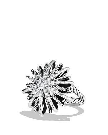 David Yurman - Starburst Ring with Diamonds