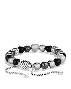 David Yurman - DY Elements Bracelet with Black Onyx and Hematine
