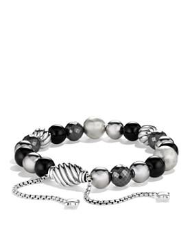 David Yurman - DY Elements Bracelet with Black Onyx and Hematine