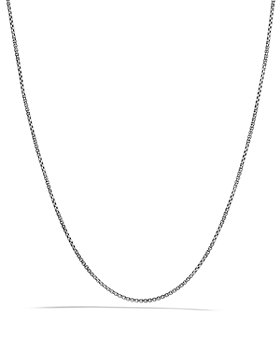 David Yurman - Baby Box Chain with Gold