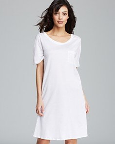 Hanro Cotton Deluxe Short Sleeve Sleepshirt - Bloomingdale's_0