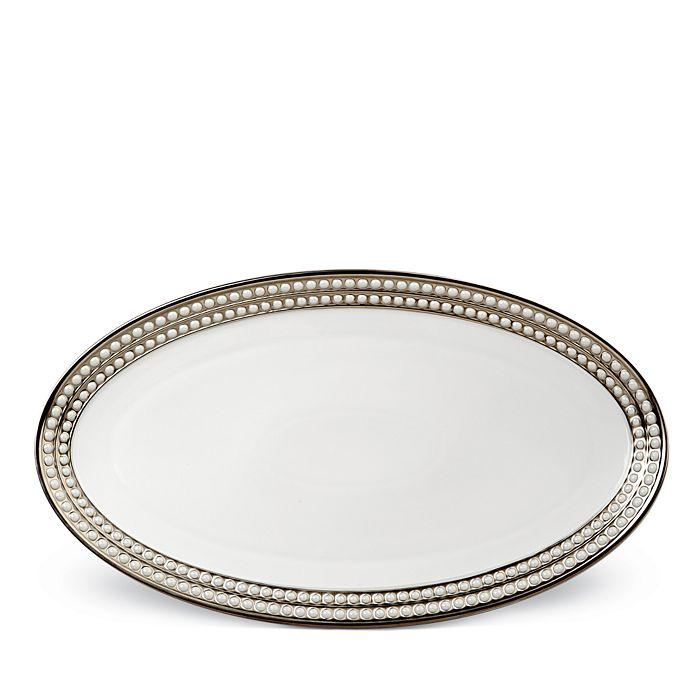 L'Objet - Perlee Platinum Oval Platter