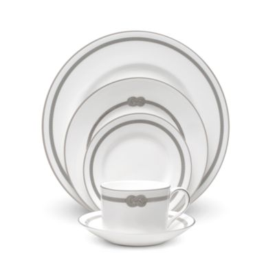 $Vera Wang Wedgwood Infinity 5-Piece Place Setting - Bloomingdale's