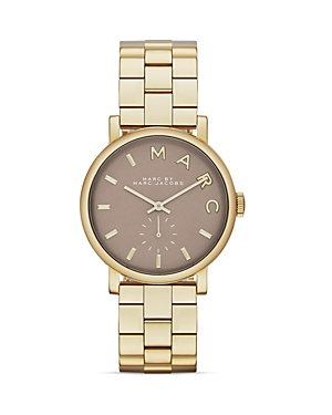 Marc By Marc Jacobs Baker Gravel Gray Watch, 36mm