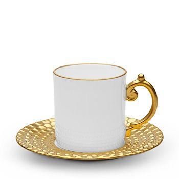 L'Objet - Aegean Espresso Cup & Saucer