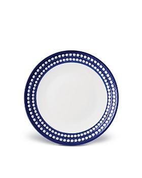 L'Objet - Perlee Bleu Dessert Plate