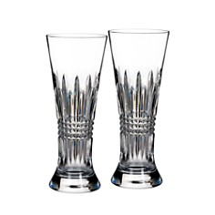 Waterford - Waterford Lismore Diamond Pilsner Glass, Set of 2