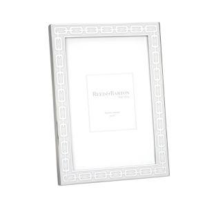 Reed & Barton Silver Link Frame, 4 x 6