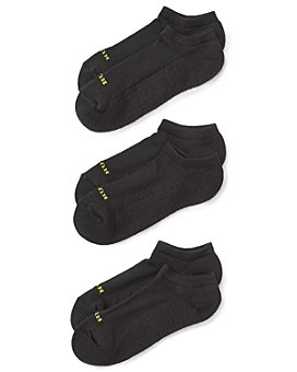 HUE - Air Cushion No-Show Socks, Set of 3