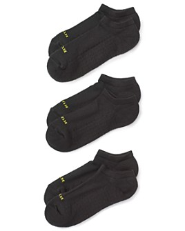 HUE - Air Cushion No-Show Socks, Set of 3