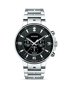 Movado Se Pilot Stainless Steel Watch, 42mm